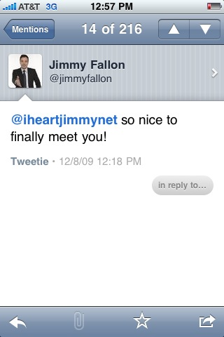 photo Mission Accomplished: My Jimmy Fallon Encounter
